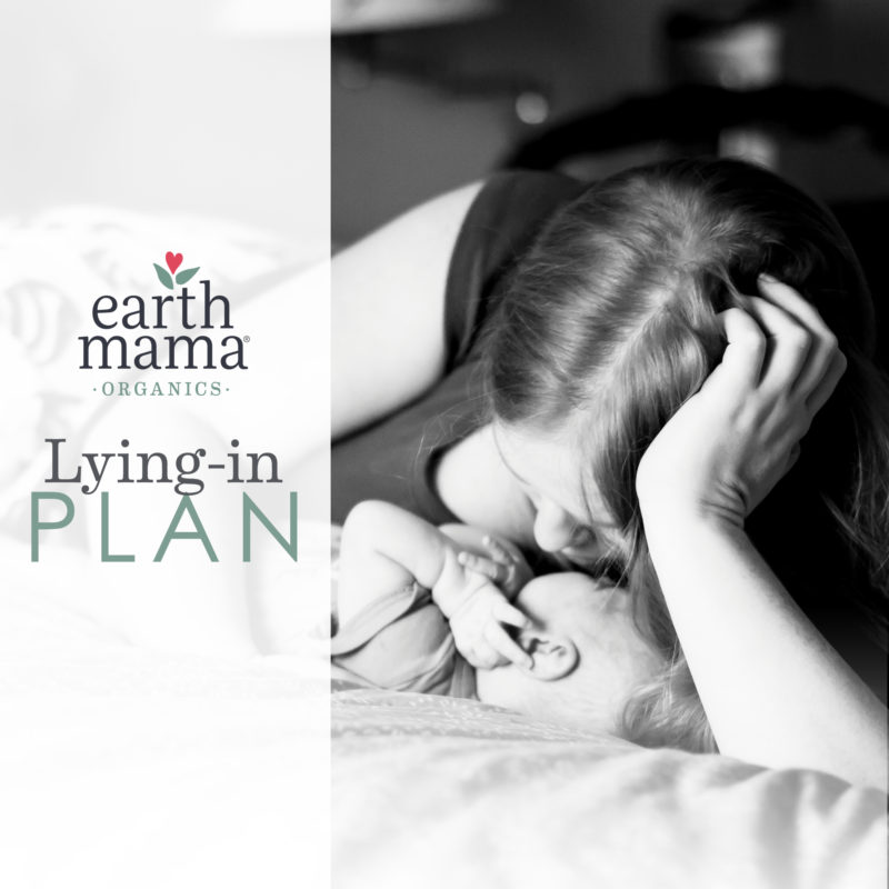 Earth Mama's Postpartum Lying-in Plan